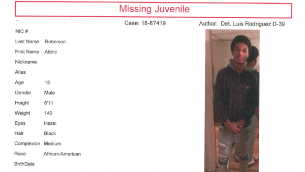 HOBOKEN POLICE: Juvenile Reported Missing