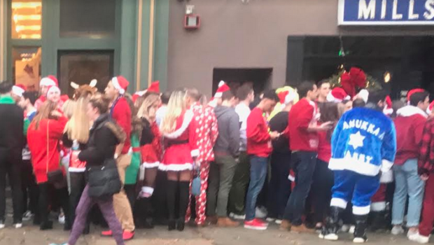 HOBOKEN SANTACON STATS: 14 Arrested, 46 Tickets Issued, 33 Ordinance Violations, 4 Cops Injured, Brawl at a Burger Joint… and a Partridge in a Pear Tree