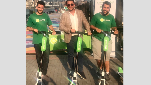 MILE SCOOT CITY: Hoboken Greenlights Lime & P3GM Scooter Program