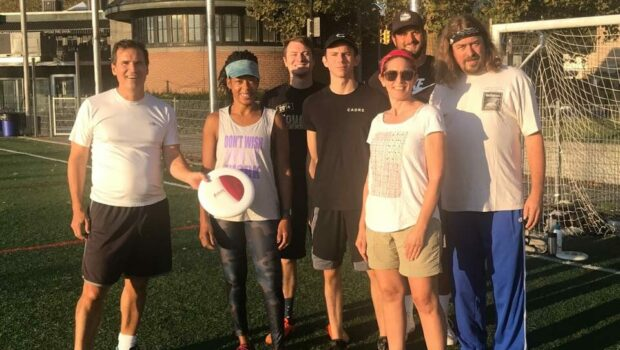 WHAM-O: Hoboken Ultimate Frisbee Takes a Spin on the Waterfront