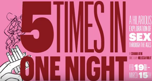 5 TIMES IN ONE NIGHT: Mile Square Theatre Explores Sex Through Ages In This Comedic Romp