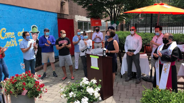 Hoboken Addresses Concerns About Social Distancing in Recently Reopened Hospitality Venues