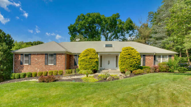 FEATURED PROPERTY:  1600 Saddlebrook Road, Mountainside, NJ | 5BR/3.5BA Sprawling Ranch | $724,000