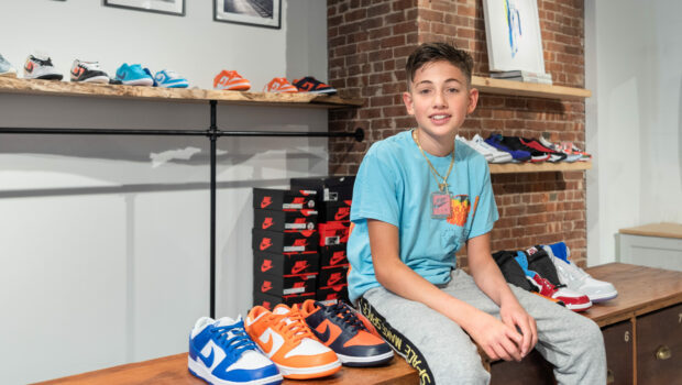 ELITE KICKZ: Hoboken 8th Grader Opens Pop-Up Sneaker Shop to Raise Funds for Jubilee Center