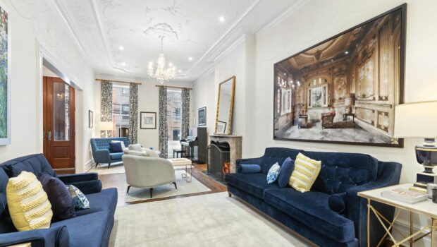 FEATURED PROPERTY: 1228 Bloomfield Street, Hoboken | Uptown 5BR/4BA Brownstone | $3,200,000